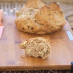 Irish Cheddar, Onion and Garlic Soda Bread