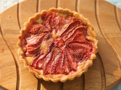 Scottish Strawberry Tart or Pie