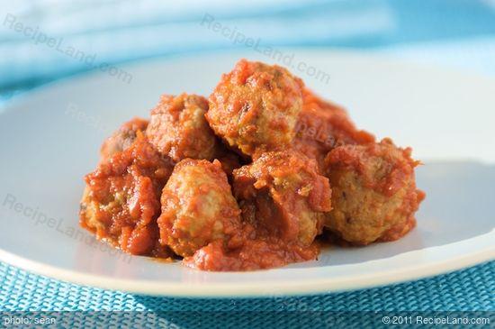 Basic Italian Meatballs recipe