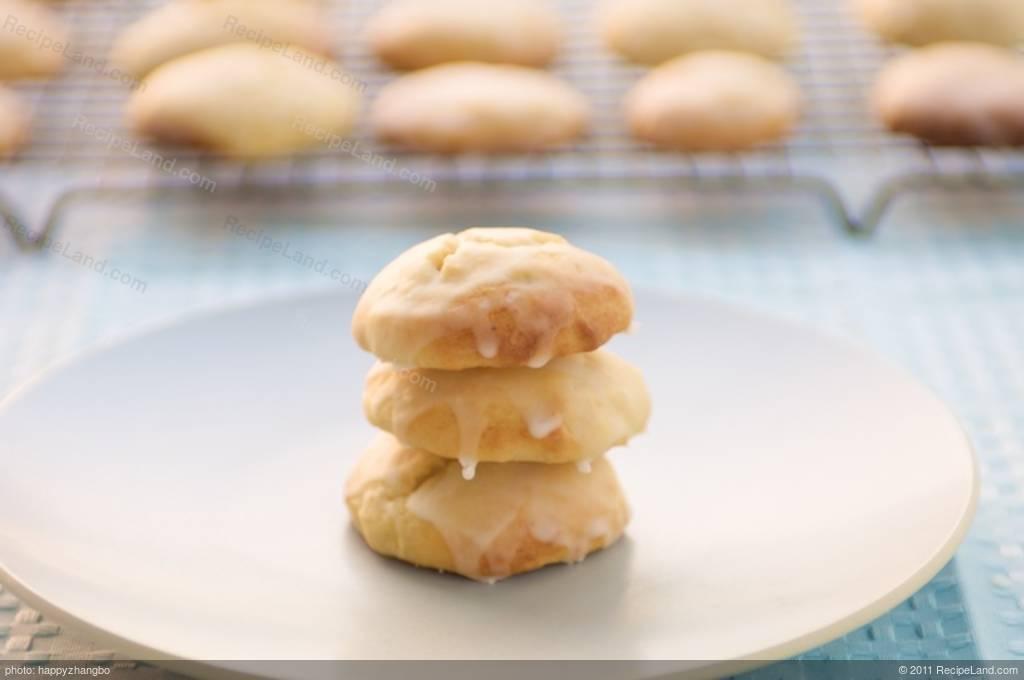 Citrus Ricotta Cookies with Citrus Glaze Recipe