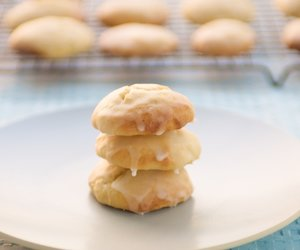 Citrus Ricotta Cookies with Citrus Glaze