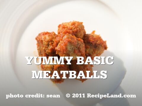 Yummy Basic Meatballs