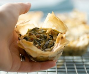 Spinach and Feta Phyllo Muffins
