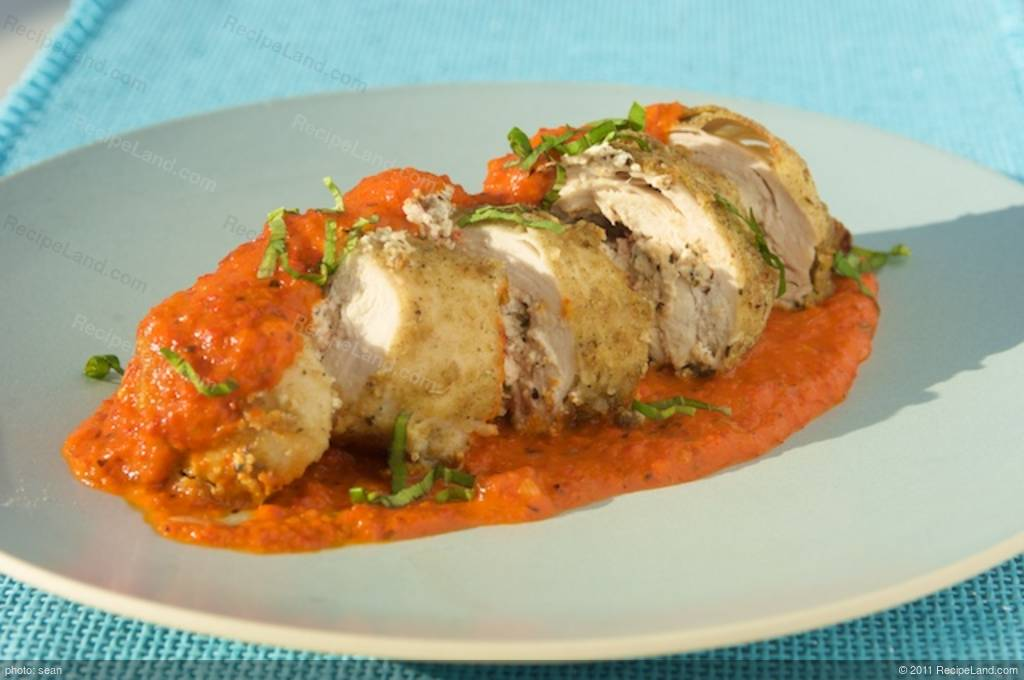 Chicken Stuffed With Goat Cheese Recipe