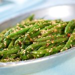 Asian Simple Spicy Sautéed Green Beans