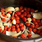 Quick Roasted Cherry Tomato Spaghetti Sauce
