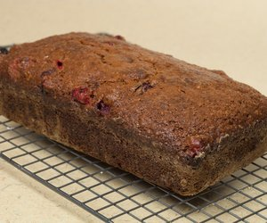 Easy Cranberry Pumpkin Bread