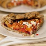 Roasted Root Vegetable Galette with Black Olives