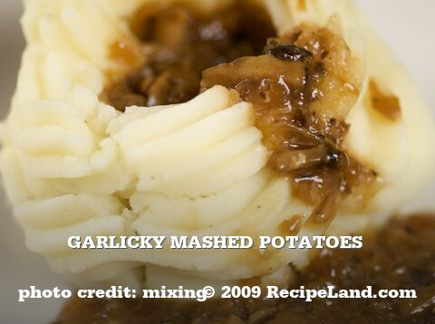 Garlicky Mashed Potatoes
