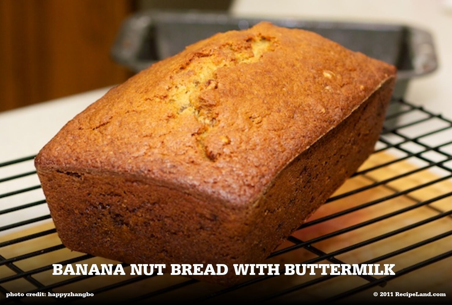 Banana Nut Bread with Buttermilk