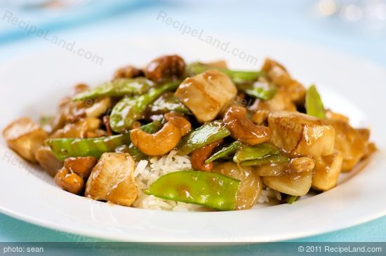 Cashew Chicken Improved - the finished dish