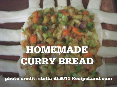 Homemade Curry Bread