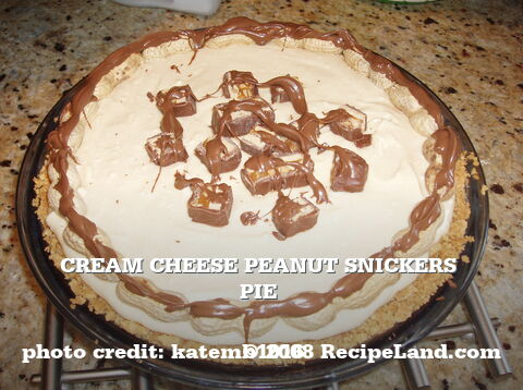 Snickers Pie