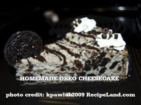 Homemade Oreo Cheesecake