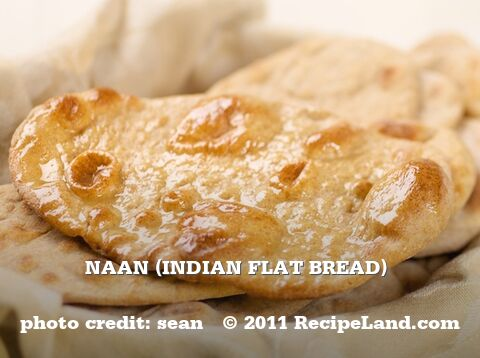 Naan (Indian Flat Bread)
