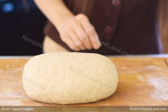 Knead until smooth and elastic, but still soft (3 to 5 minutes)...