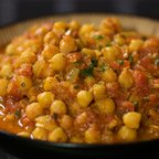 Amazing Spiced Chick Peas