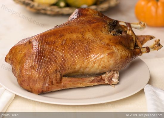 An Absolutely Perfect Roast Goose Recipe