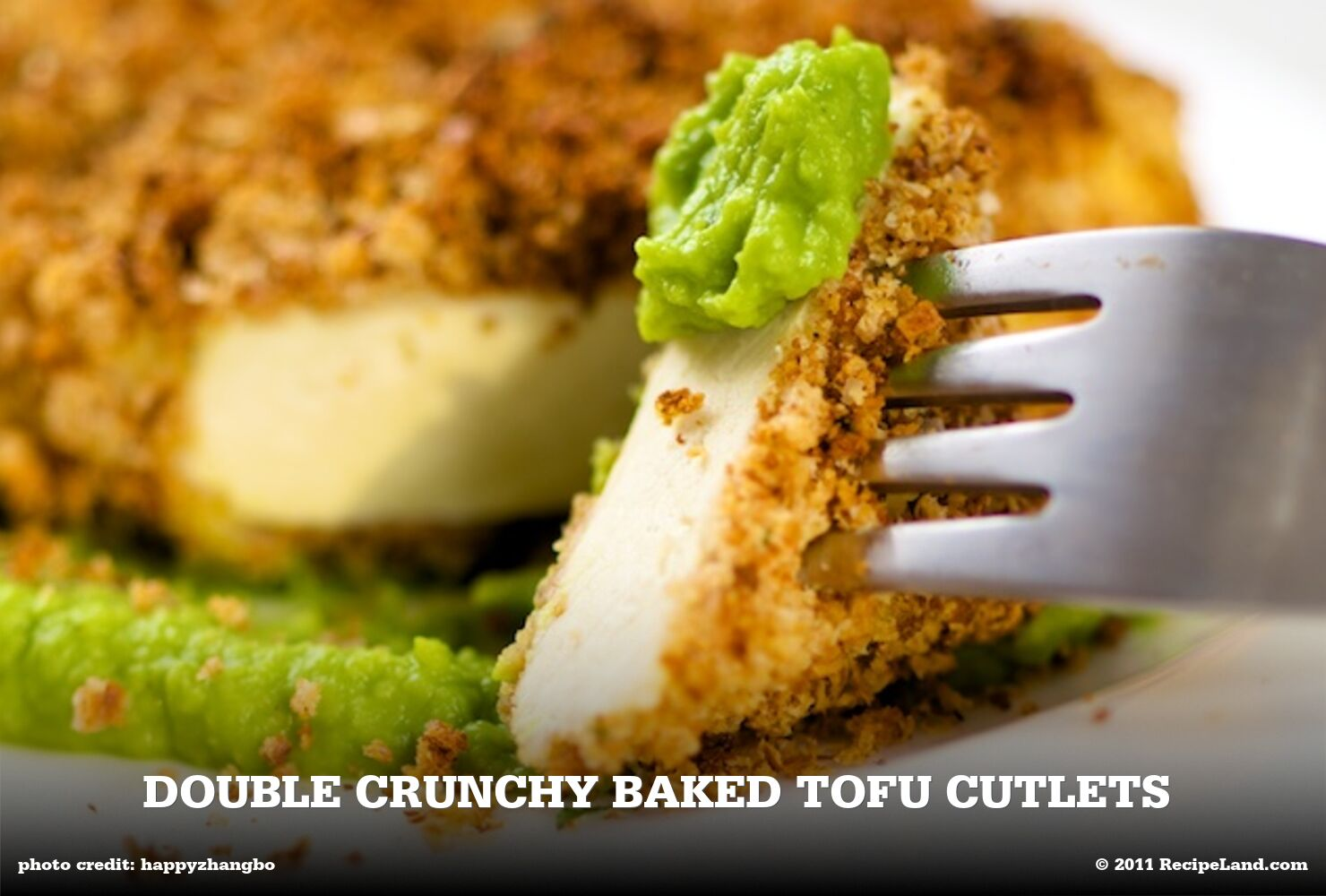 Double Crunchy Baked Tofu Cutlets