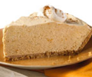 No Bake Creamy Pumpkin Pie - 5 Star