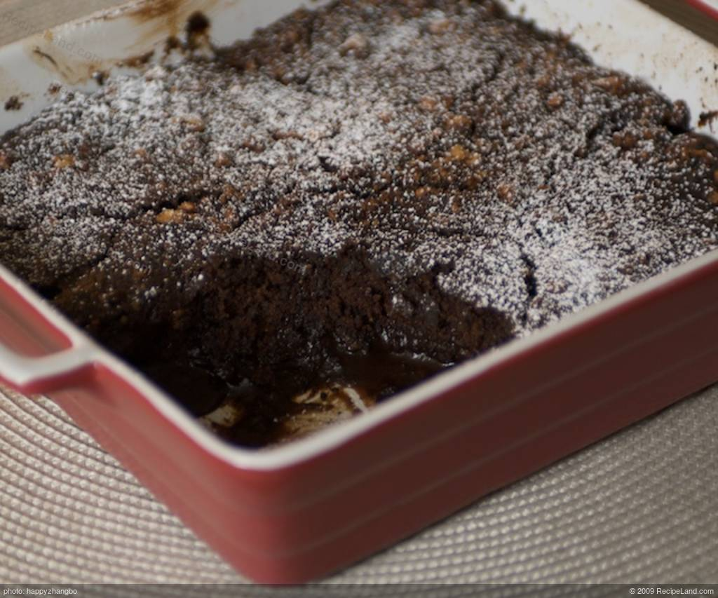 Chocolate Coffee Pudding Cake Recipe