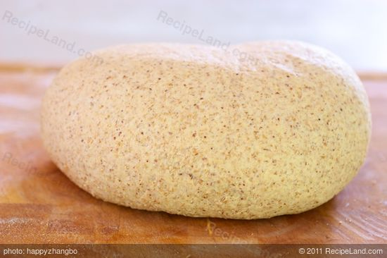Transfer the dough to a floured working surface or cutting board...