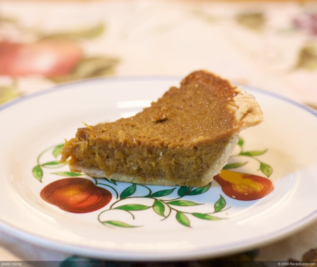 Best in the West (Houston) Pumpkin Pie