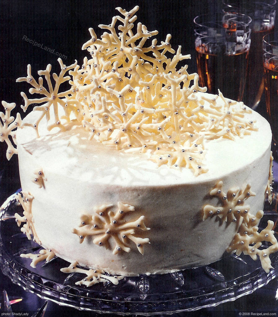 Lemon Snowflake Cake Recipe