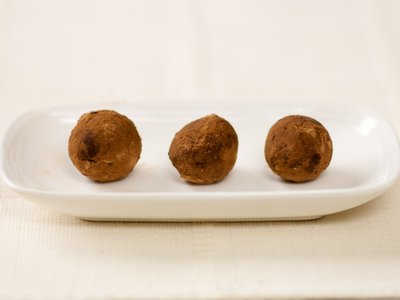 Walnut Chocolate Rum Balls