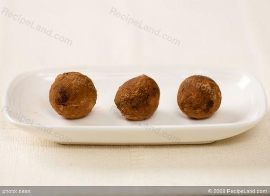 Walnut Chocolate Rum Balls Recipe