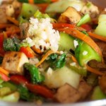 Asian Tofu Stir Fry with Vegetables