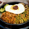 Bibimbap (Korean Seasoned Vegetables and Rice with Spicy Sauce)