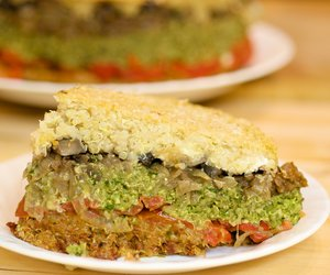 5 Layer Quinoa Lasagna
