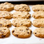 Peanut-Butter Chocolate Chip Cookies
