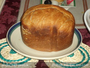 Cake Bread for Bread machine