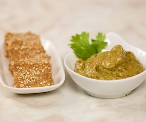 Cliantro Avocado and Sweet Pepper Dip