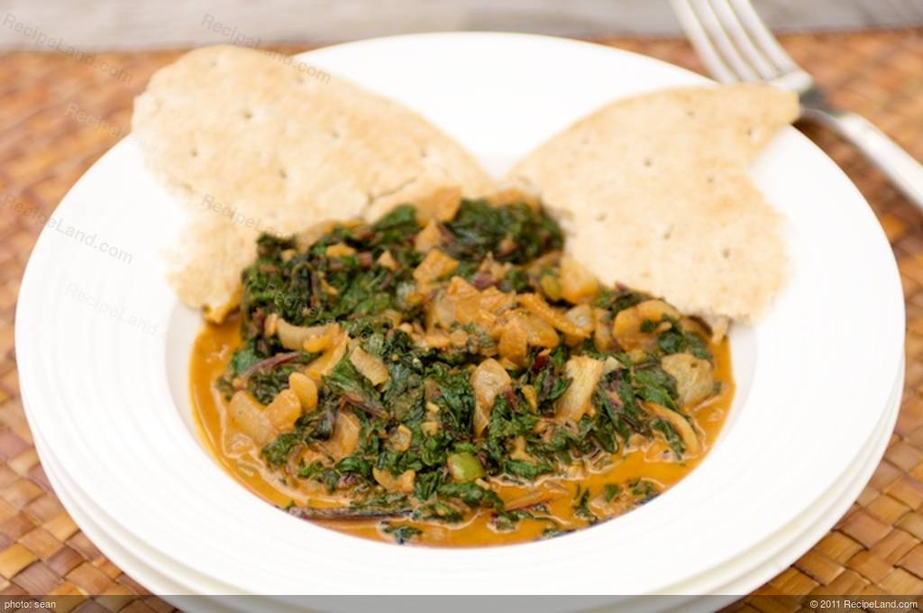 Beet Greens with Indian Spices Recipe