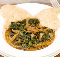 Beet Greens with Indian Spices