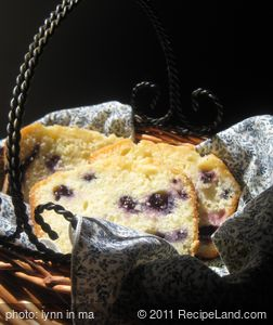 Blueberry-Lemon Tea Bread