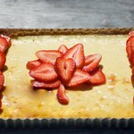Canadian Flag Cheesecake (Canada Day)