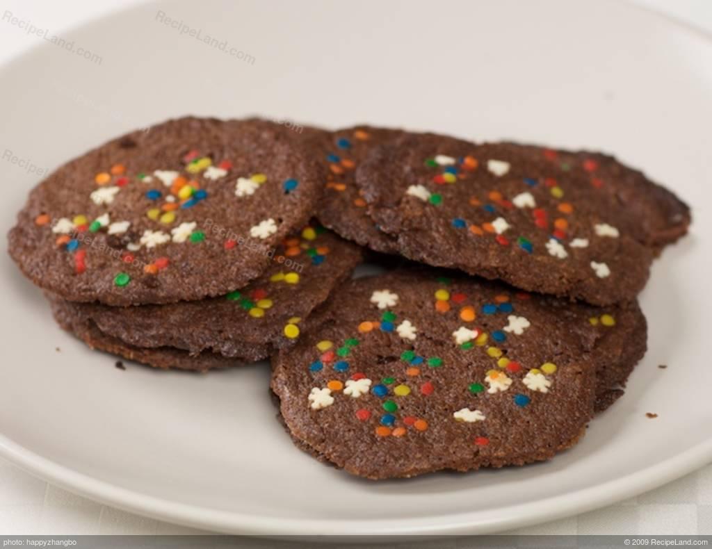 Chocolate Mint Christmas Cookies Recipe