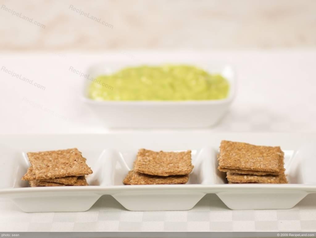 Homemade Wheat Thins Recipe   RecipeLand.com