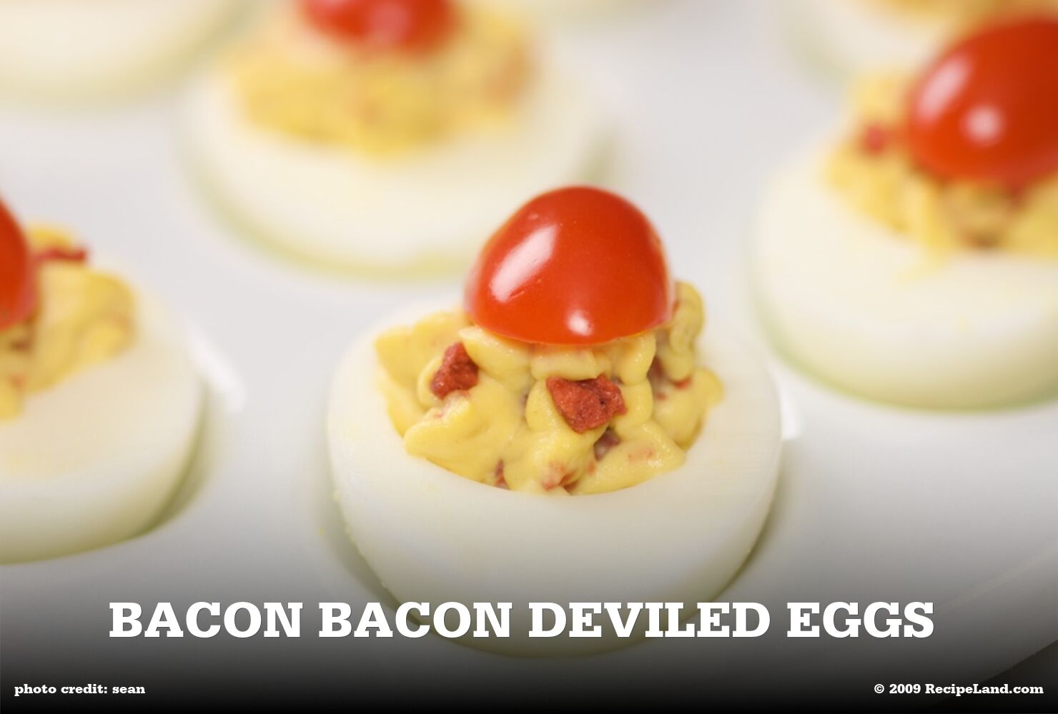 Bacon Bacon Deviled Eggs
