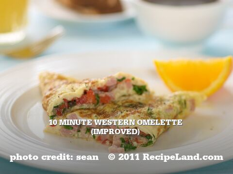 10 Minute Western Omelette (improved)