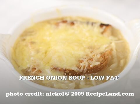 French Onion Soup - Low Fat