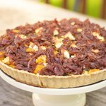 Sweet Potato, Kale, and Feta Tart