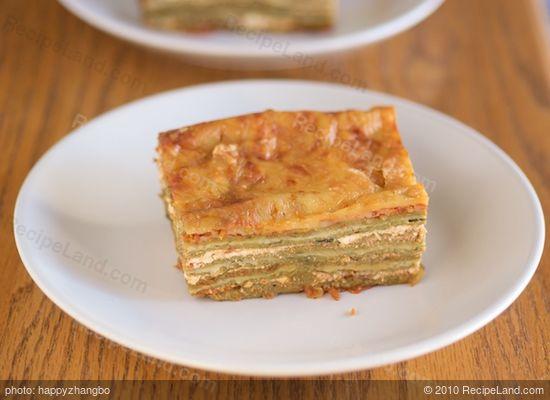 Thousand Layer Lasagna recipe | RecipeLand.com