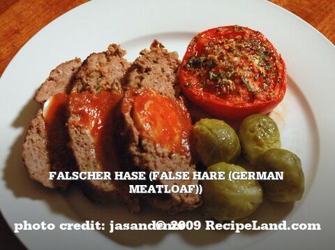 Falscher Hase (False Hare (German Meatloaf))