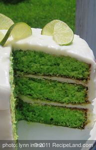 Robb's Tropical Lime Cake