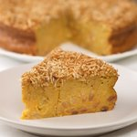 Jamaican Sweet Potato Pudding Cake